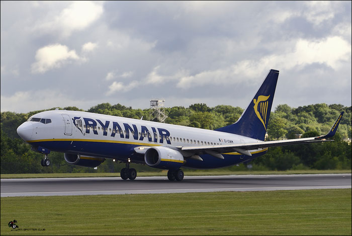 EI-DWM B737-8AS 36080/2430 Ryanair @ Manchester Airport 21.06.2015 © Piti Spotter Club Verona