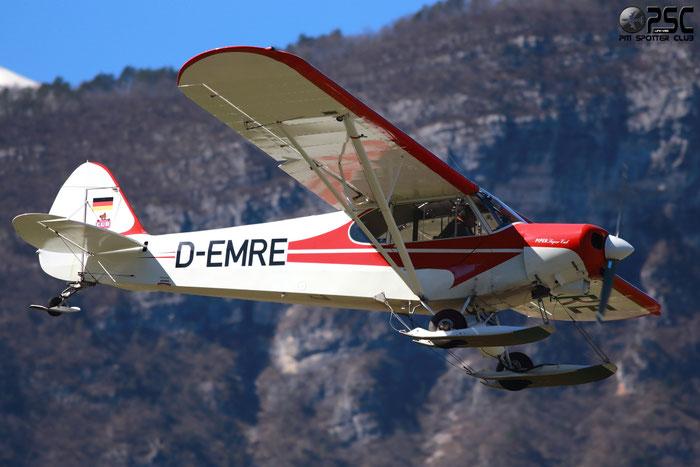 D-EMRE Piper PA-18 PA18 @ Aeroporto di Trento © Piti Spotter Club Verona