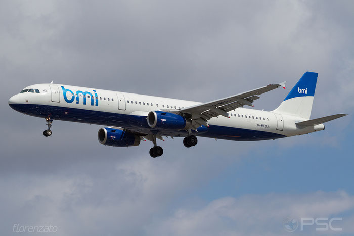 G-MEDJ A321-231 2190 BMI - British Midland International @ London Heathrow Airport 2010 © Piti Spotter Club Verona
