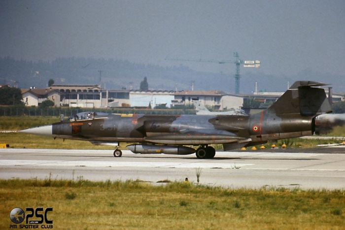 Gli F-104 del Terzo Stormo: 3-51 -  @ Aeroporto di Verona   © Piti Spotter Club Verona