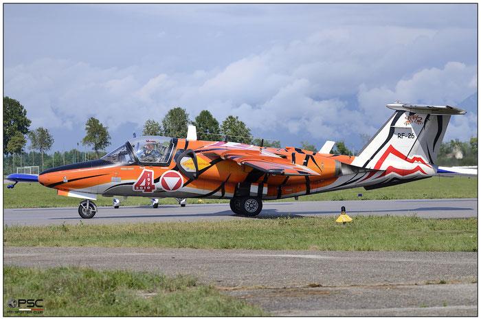 RF-26 - Saab 105OE - Austria - Air Force © Piti Spotter Club Verona