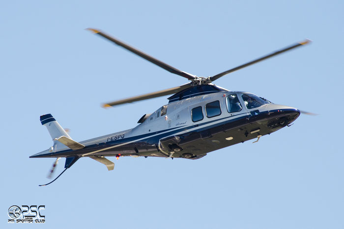 I-ESPO - Agusta A109S Grand - Esperia Aviation Services @ Aeroporto di Bolzano © Piti Spotter Club Verona