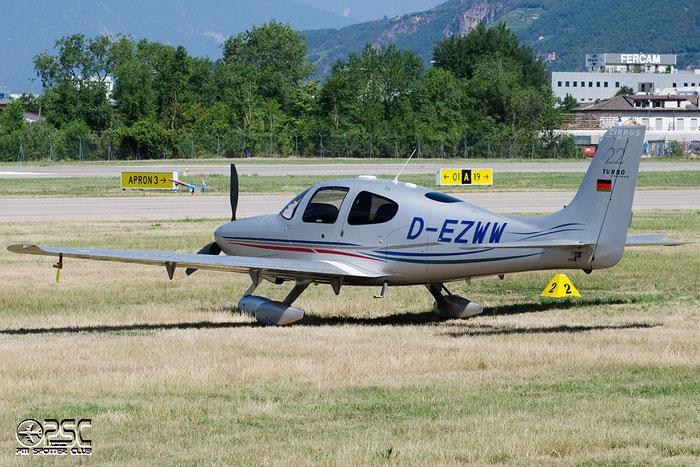 D-EZWW Cirrus Design Corp SR-22 SR22 2346 @ Aeroporto di Bolzano © Piti Spotter Club Verona
