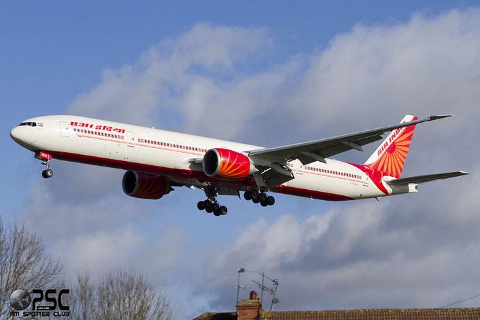 VT-ALU B777-337ER 36319/880 Air India @ London Heathrow Airport 07.02.2014 © Piti Spotter Club Verona