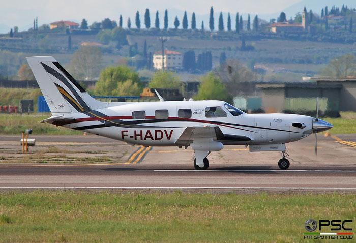 F-HADV  PA-46-500TP  4697305  Vignobles en Vol @ Aeroporto di Verona 2021 © Piti Spotter Club Verona