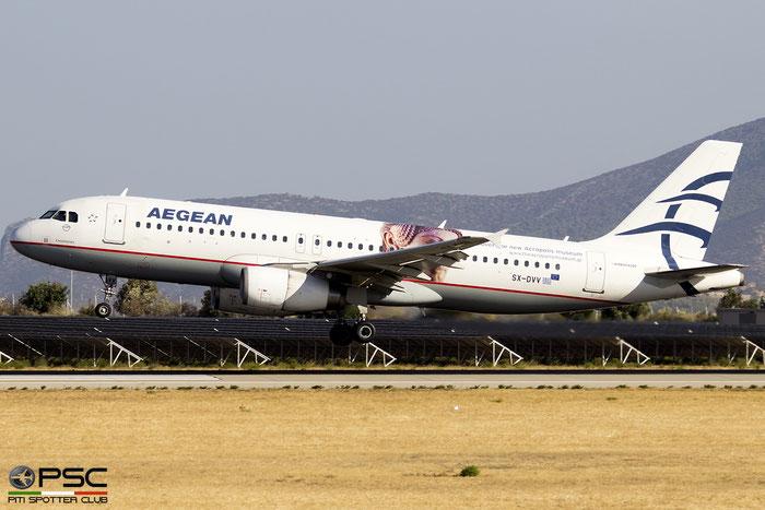 SX-DVV  A320-232  3773  Aegean Airlines  @ Athens 2019 © Piti Spotter Club Verona