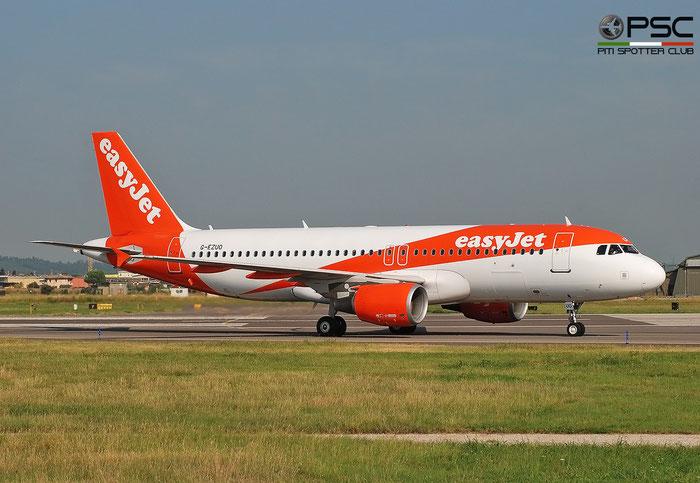 G-EZUO  A320-214  5052  easyJet @ Aeroporto di Verona 2020 © Piti Spotter Club Verona