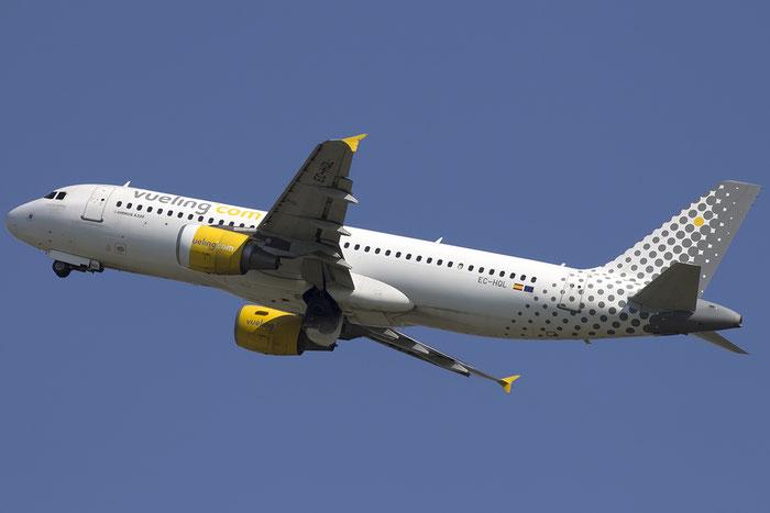 EC-HQL A320-214 1461 Vueling Airlines @ Venezia Airport 22.08.2015 © Piti Spotter Club Verona