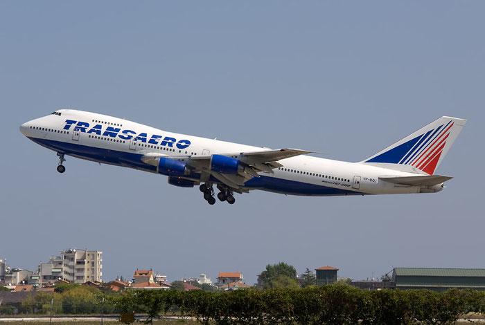 VP-BQC B747-219B 22725/563 Transaero Airlines @ Rimini Airport 20.08.2011 © Piti Spotter Club Verona