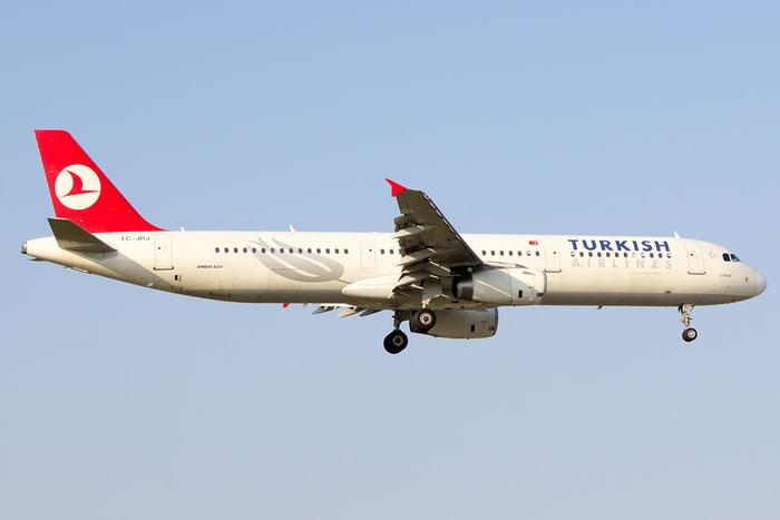 TC-JRJ A321-231 3429 Turkish Airlines - THY Türk Hava Yollari @ Bologna Airport 07.09.2014 © Piti Spotter Club Verona