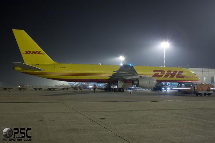 G-BIKV B757-236SF 23400/81 DHL Air @ Milano Malpensa Airport 113.12.2014 © Piti Spotter Club Verona