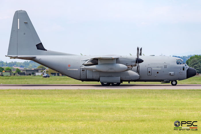 MM62180  46-45  C-130J  5505 @ Aeroporto di Verona © Piti Spotter Club Verona