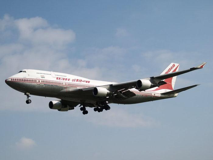 VT-ESN B747-437 27164/1003 Air India @ London Heathrow Airport 08.2007 © Piti Spotter Club Verona