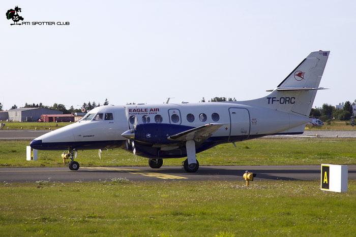 TF-ORC  BAe3217  981  Eagle Air  @ Reykjavik Airport 08.2019 © Piti Spotter Club Verona
