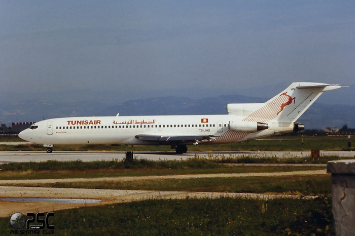 TS-JHS B727-2H3 21234/1209 Tunisair © @ Aeroporto di Verona © Piti Spotter Club Verona