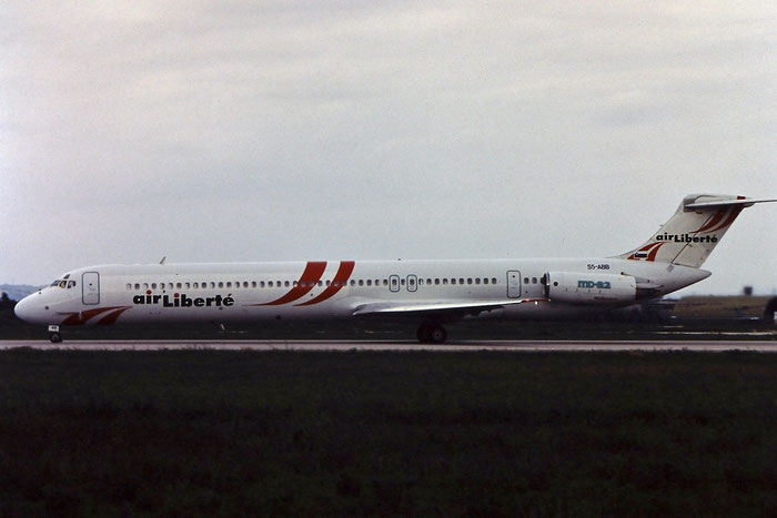 S5-ABB MD-82 48087/1035 Air Liberté Tunisie @ Aeroporto di Verona © Piti Spotter Club Verona