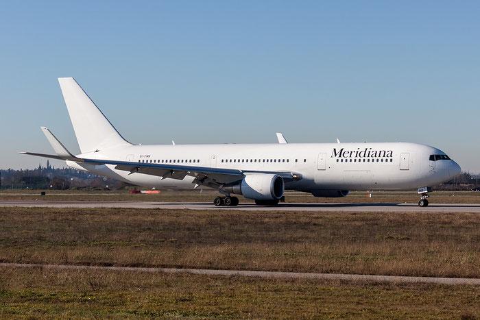 EI-FMR  B767-304ER  28042/649  Meridiana  @ Aeroporto di Verona © Piti Spotter Club Verona