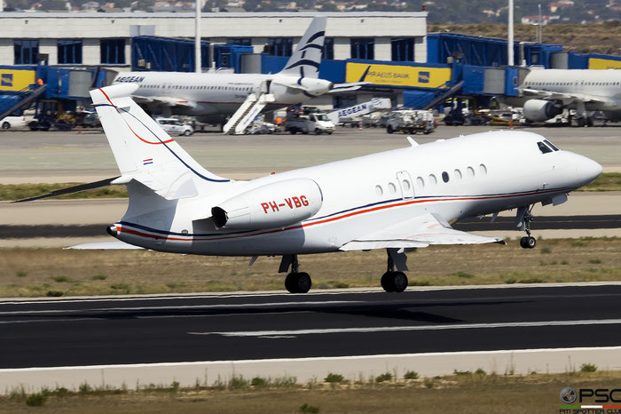 PH-VBG  Falcon 2000EX  005  JetNetherlands @ Athens 2019 © Piti Spotter Club Verona