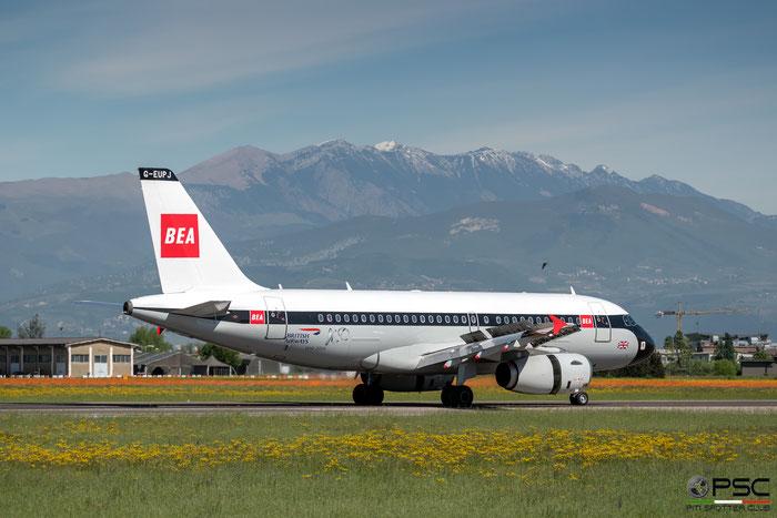 G-EUPJ A319-131 1232 British Airways @ Aeroporto di Verona 04.2019  © Piti Spotter Club Verona