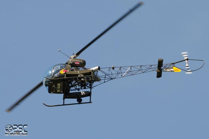 OE-XDM Bell 47G-3B-1 B47G 3575 The Flying Bulls GmbH @ Aeroporto di Bolzano © Piti Spotter Club Verona