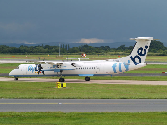 G-JEDT DHC-8-402 4088 Flybe - British European  @ Manchester Airport 20.07.2012  © Piti Spotter Club Verona