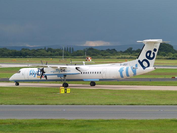 G-JEDT DHC-8-402 4088 Flybe - British European  @ Manchester Airport 20.07.2012  © Piti Spotter Club Verona