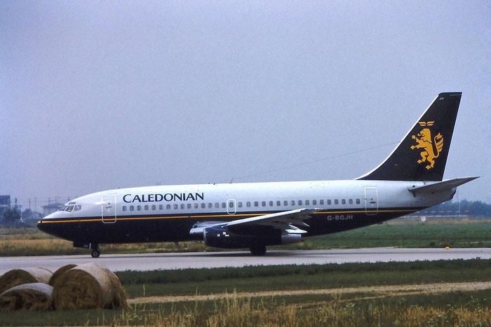 G-BGJH B737-236 22029/662 Caledonian Airways @ Aeroporto di Verona © Piti Spotter Club Verona