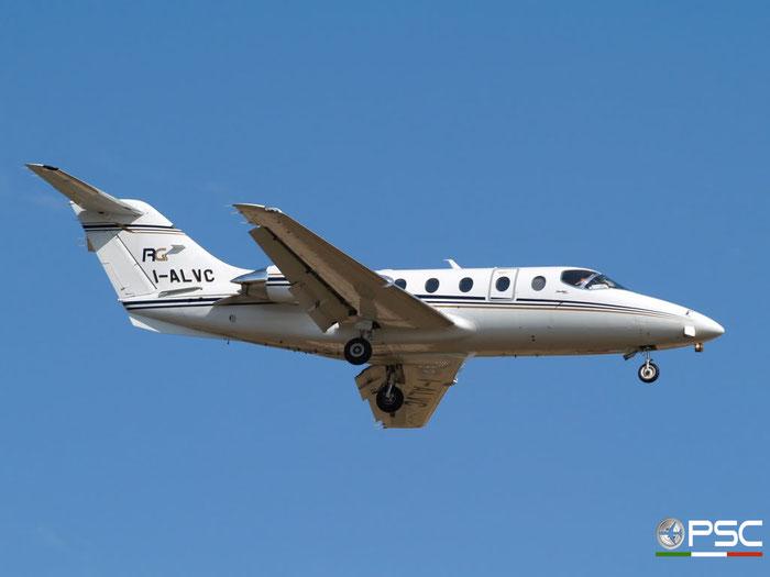 I-ALVC Beech 400A RK-515 Slam Lavori Aerei Srl @ Aeroporto di Verona 06.06.2009  © Piti Spotter Club Verona