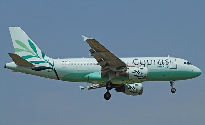 5B-DCX A319-114 1091 Cyprus Airways @ Aeroporto di Verona 27.05.2018  © Piti Spotter Club Verona
