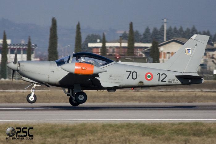 MM55107  70-12  SF260EA  6974/2069/EA010  207° Gruppo @ Aeroporto di Verona   © Piti Spotter Club Verona