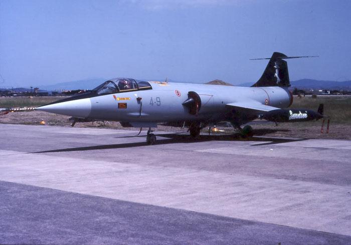 MM6873  4-9  F-104S-ASA-M  1173 @ Aeroporto di Verona   © Piti Spotter Club Verona