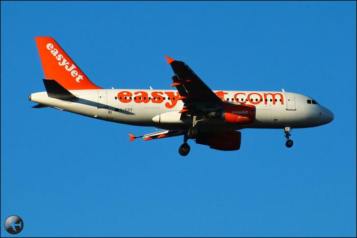 G-EZIT A319-111 2538 EasyJet Airline @ Milano Malpensa Airport 31.01.2015  © Piti Spotter Club Verona