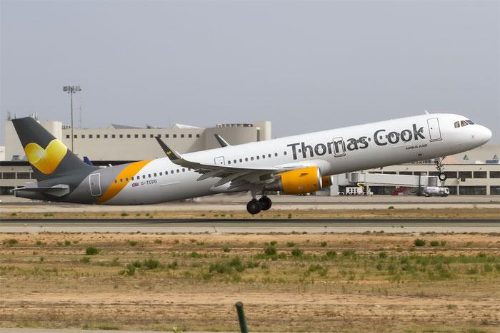 G-TCDG A321-211 6122 Thomas Cook Airlines @ Palma de Mallorca Airport 07.2014 © Piti Spotter Club Verona