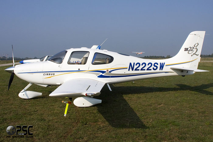 N222SW CIRRUS DESIGN CORP SR-22 SR22 0977 @ Aeroporto Verona Boscomantico © Piti Spotter Club Verona