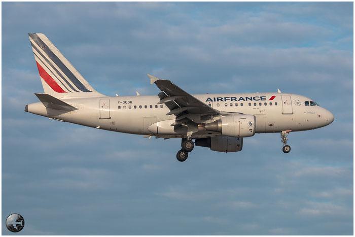 F-GUGB A318-111 2059 Air France @ Bologna Airport 02.01.2015 © Piti Spotter Club Verona