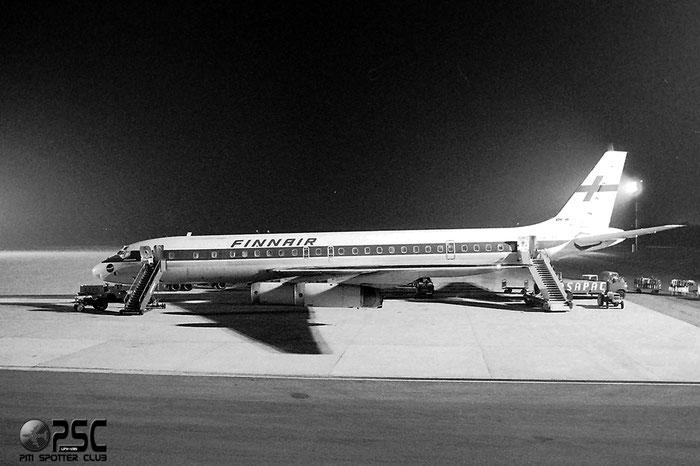 OH-LFZ  DC-8-62  45987/366  Finnair @ Aeroporto di Verona © Piti Spotter Club Verona