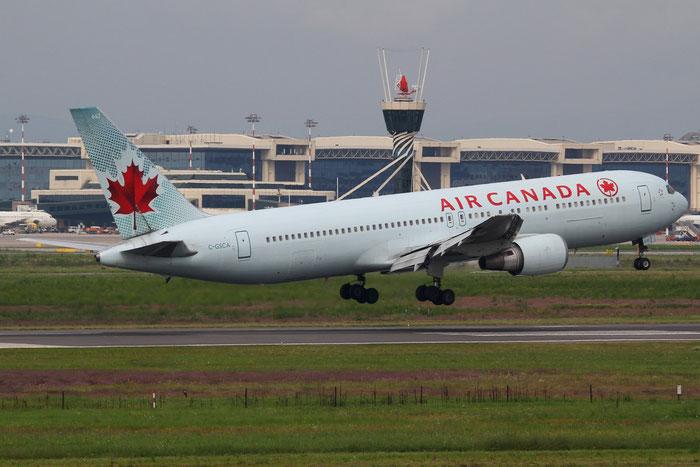 C-GSCA B767-375ER 25121/372 Air Canada @ Milano Malpensa Airport 31.08.2014 © Piti Spotter Club Verona