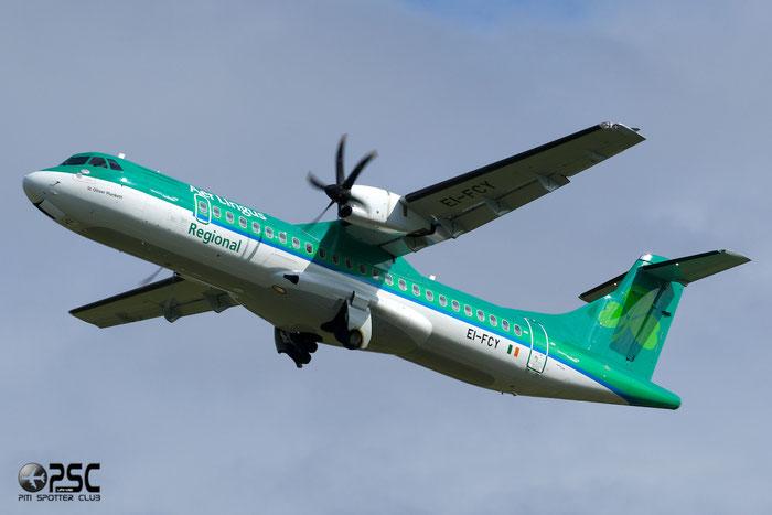 EI-FCY ATR72-212A 1139 Stobart Air opf Aer Lingus Regional @ Manchester Airport 13.05.2014 © Piti Spotter Club Verona