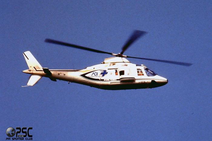 Agusta A109AII ( c/n 7366 ) - mfg: 1988 - Reg. History: I-SEIB @ Aeroporto di Verona © Piti Spotter Club Verona