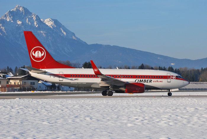 OY-MRS B737-7Q8 28210/22 Sterling European Airlines @ Salzburg Airport 2011 © Piti Spotter Club Verona