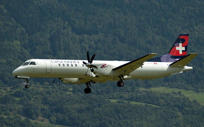 HB-IZX Saab 2000 2000-041 Darwin Airline @ Aeroporto di Bolzano © Piti Spotter Club Verona