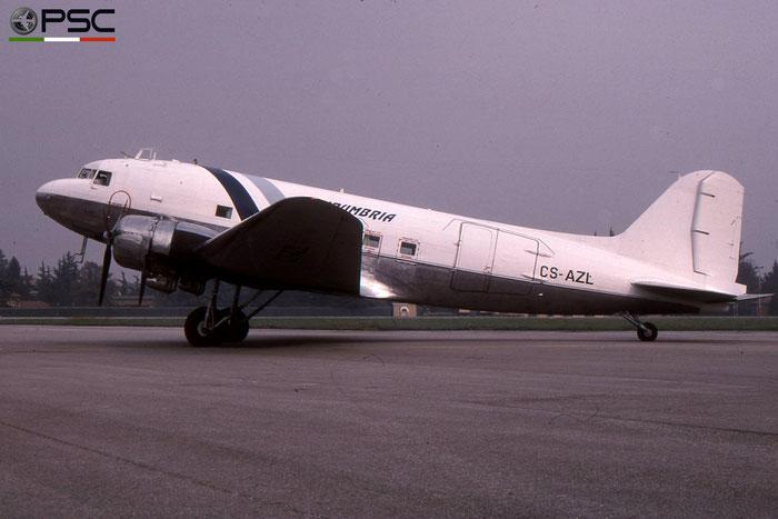 CS-AZL Douglas DC-3 Private (Air Umbira) © courtesy of Marco Ceschi - Piti Spotter Club Verona