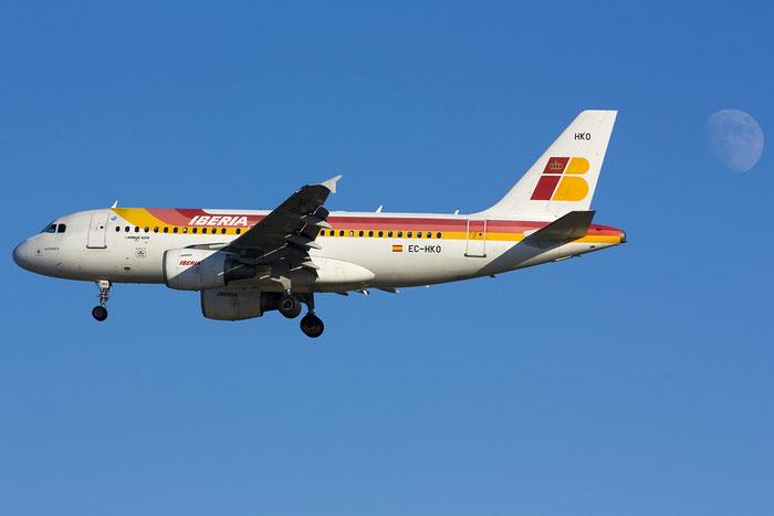 EC-HKO A319-111 1362 Iberia Líneas Aéreas de España @ Venezia Airport 27.08.2012 © Piti Spotter Club Verona