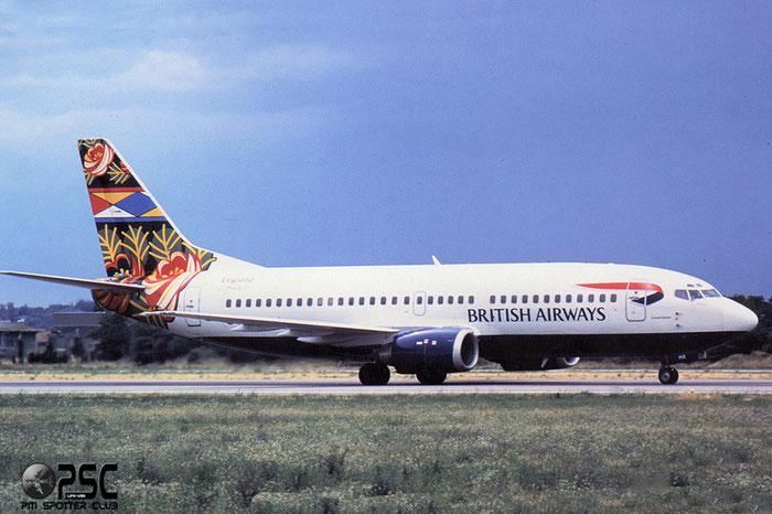 G-DOCH B737-436 25428/2185 British Airways @ Aeroporto di Verona © Piti Spotter Club Verona