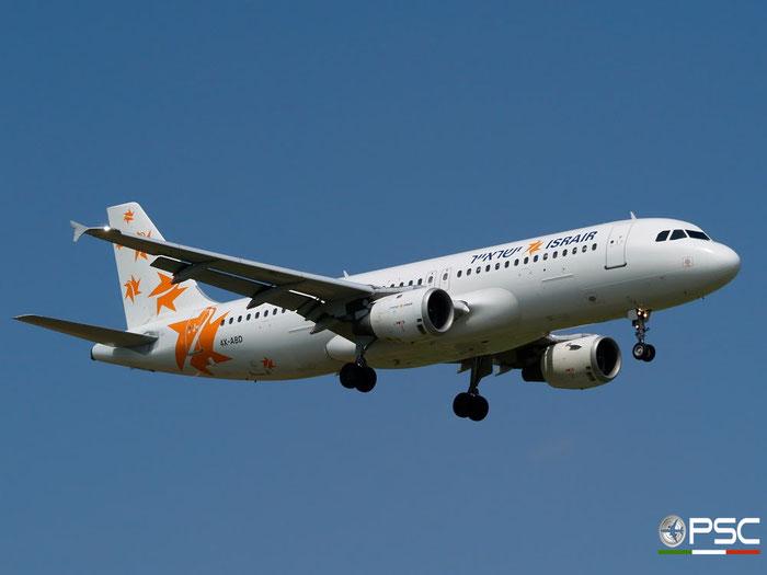 4X-ABD A320-211 384 Israir @ Aeroporto di Verona 28.06.2008  © Piti Spotter Club Verona