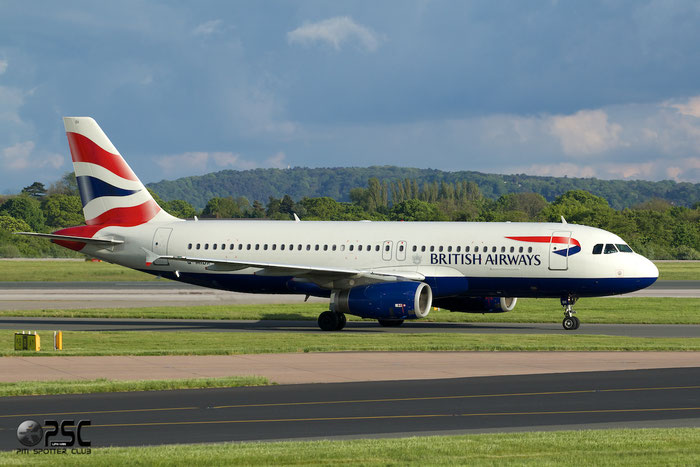 G-MIDX A320-232 1177 British Airways @ Manchester Airport 13.05.2014 © Piti Spotter Club Verona