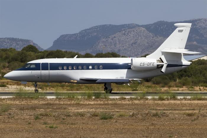 CS-DFE Falcon 2000 205 NetJets Europe @ Palma de Mallorca Airport 07.2014 © Piti Spotter Club Verona