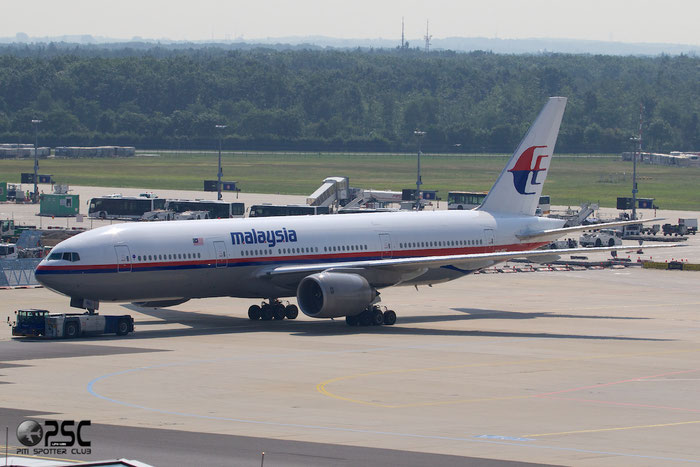 9M-MRC B777-2H6ER 28410/78 Malaysia Airlines @ Frankfurt Airport 25.07.2014 © Piti Spotter Club Verona