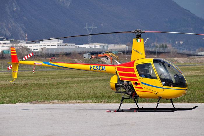 I-CSCM    Robinson R22B Beta II    3365 @ Aeroporto di Trento © Piti Spotter Club Verona