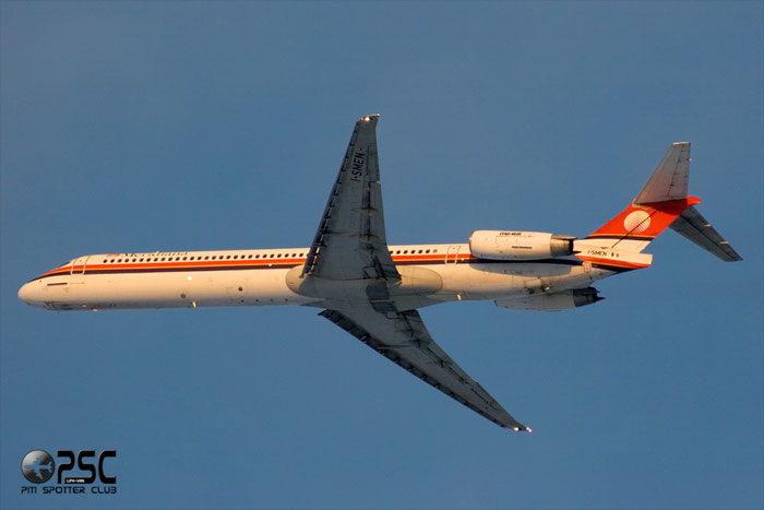 I-SMEN  MD-83  53013/1738  Meridiana  @ Aeroporto di Verona © Piti Spotter Club Verona